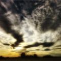 Juni: Sonnenuntergang von Herbert Haas
